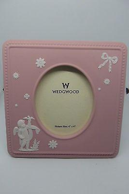 Wedgwood Photograph Frame  Pink Jasperware Rare