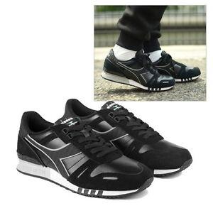 1b7590849a2e NEW Diadora Mens Diadora Titan Leather L S 501.160354 80013 Black