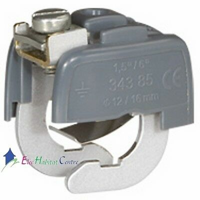 Connecteur liaison équipotentielle 6mm² Legrand 34385