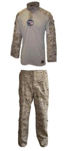 Bekleidung & Schutzausrüstung US Marine Corps USMC Army MARPAT Desert Digital FROG Combat shirt pants Hose SL Funsport