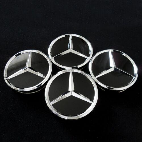 Mercedes Nabe Felgen Rad Reifen Kappen Deckel Abdeckung Miten Blenden Zier 60 mm