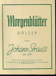 Johann-Strauss-Morgenblaetter-Walzer-Op-279