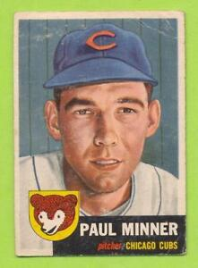 1953-Topps-Paul-Minner-92-Chicago-Cubs