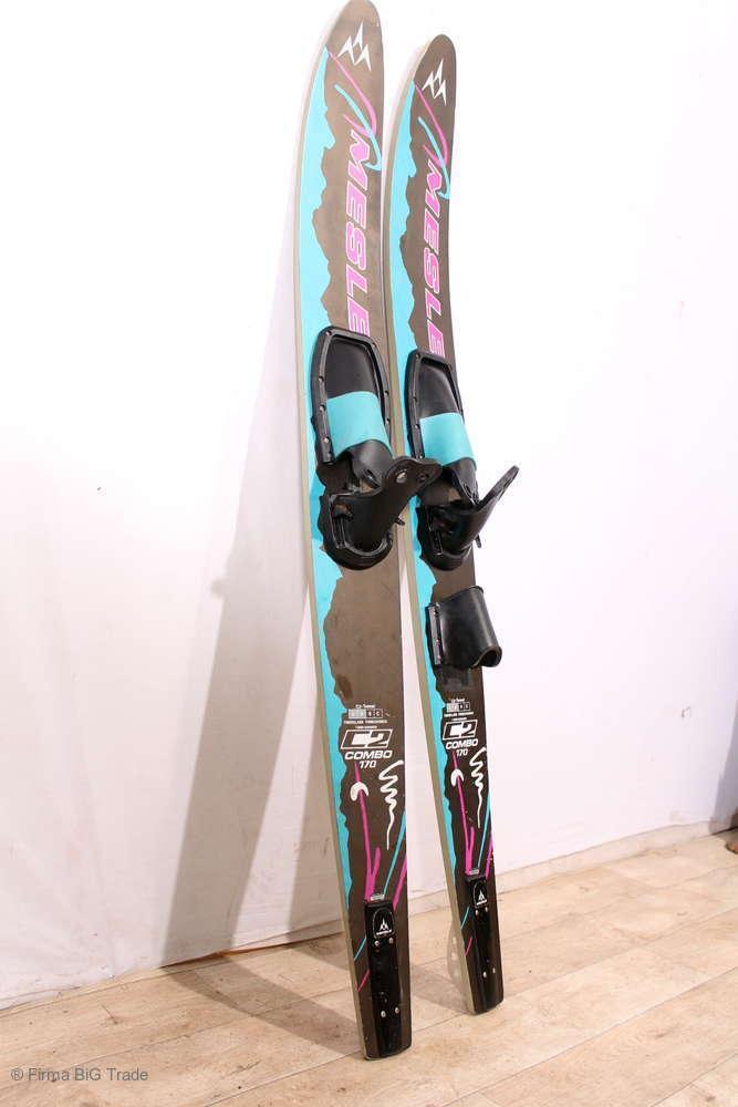 1 pares de esquiar tablones mesle  combo 170 fibra de vidrio torsionsbox usado  punto de venta