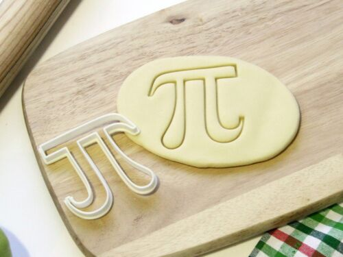 Pi 3.14 Cookie Cutter Cupcake Topper Fondant Gingerbread Cutter