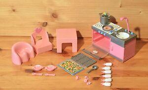 Mini Baby Born Küche mit Zubehör und Stuhl und Tisch Top RAR 46 | eBay