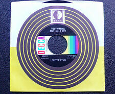 "7"" Loretta Lynn - You Wanna Give Me A Lift - US DECCA"