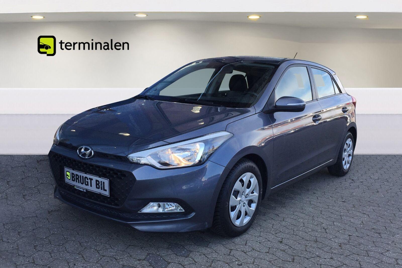 Hyundai i20 1,25 Trend 5d - 84.700 kr.