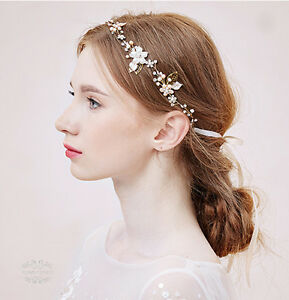 Details about Bridal Hair Piece Freshwater