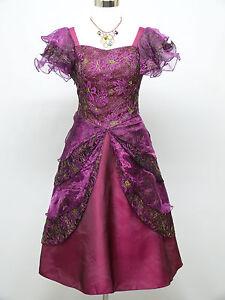 Cherlone Purple Prom Ball Evening Formal Wedding Bridesmaid Dress Size 14-16