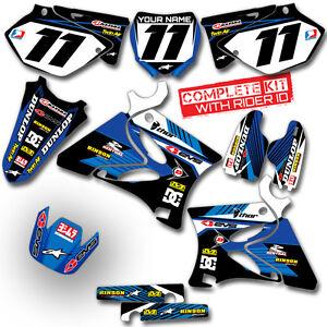 2003-2004-YAMAHA-YZ-250F-YZ450F-GRAPHICS-KIT-RIDGELINE-BLUE-BLUE-DECALS-KIT