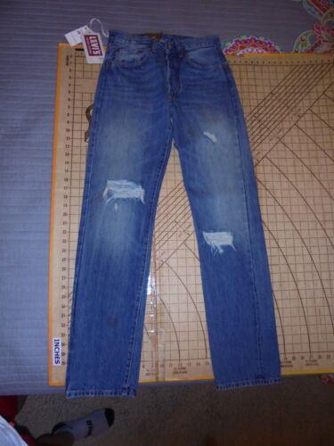 Wholesale 1976 LEVIS VINTAGE CLOTHING 501 SIZE 28-34 SELVEDGE CONE DENIM JEANS - NWT for sale