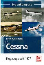 Buch Typenkompass Cessna Flugzeuge seit 1927 Laumanns Motorbuch Verlag