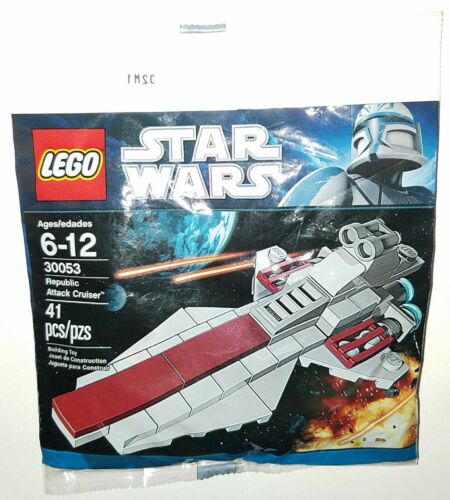 LEGO Star Wars Mini Set 30053 Republic Attack Cruiser Polybag NEW /& Sealed