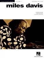 Miles Davis 2nd Edition Sheet Music Jazz Piano Solo Series Volume 1 Pi 000306521