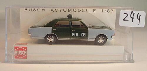 42051 Opel Commodore Limousine Polizei Hessen OVP #244 Busch 1//87 Nr