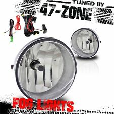 For 2005-2011 Toyota Tacoma Clear Lens Chrome Housing Fog Lights Pair Set Kit