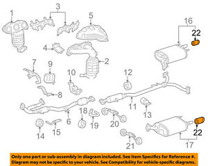 TOYOTA OEM-Exhaust System Tail Pipe Extension 1740874080