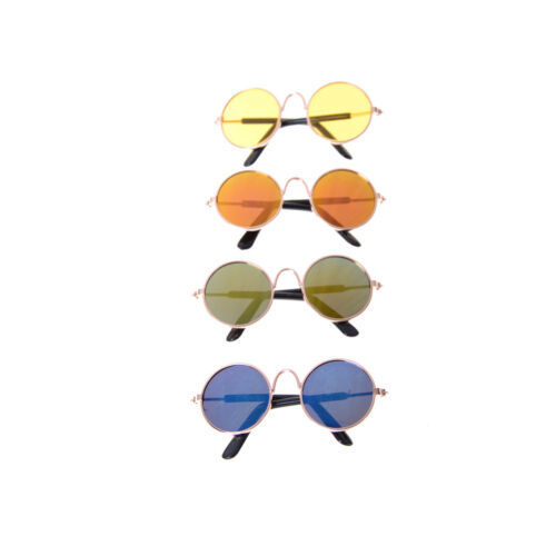 "Doll Accessories Round Colorful Glasses Sunglasses For 18/"" NH"