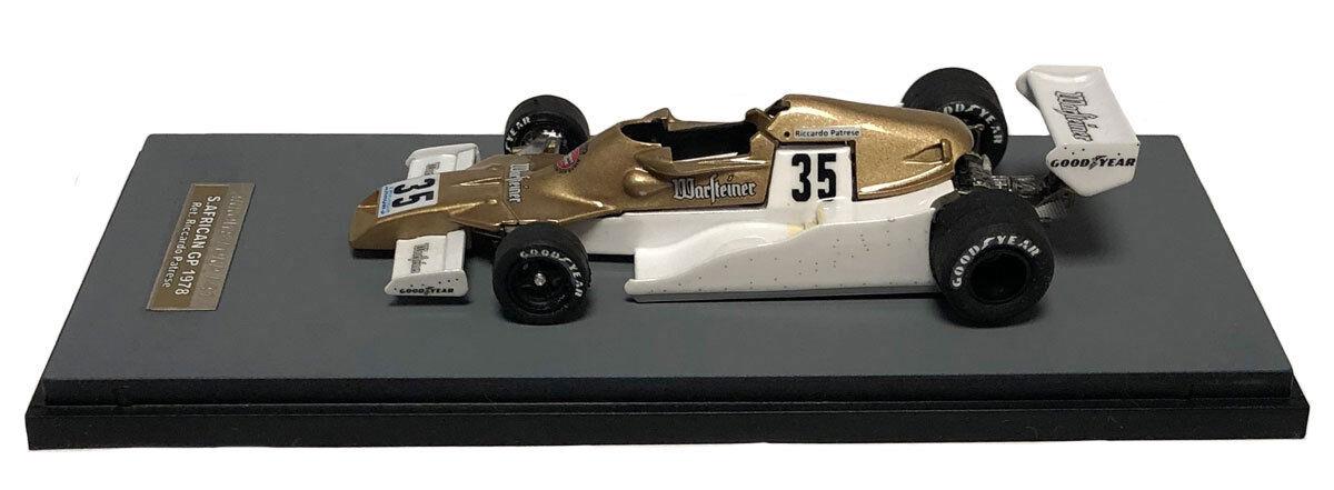 Tameo SLK115A FRECCE FA1  35 35 35 IN SUD AFRICA GP 1978-Riccardo Patrese ha SCALA 1/43 e72e0d