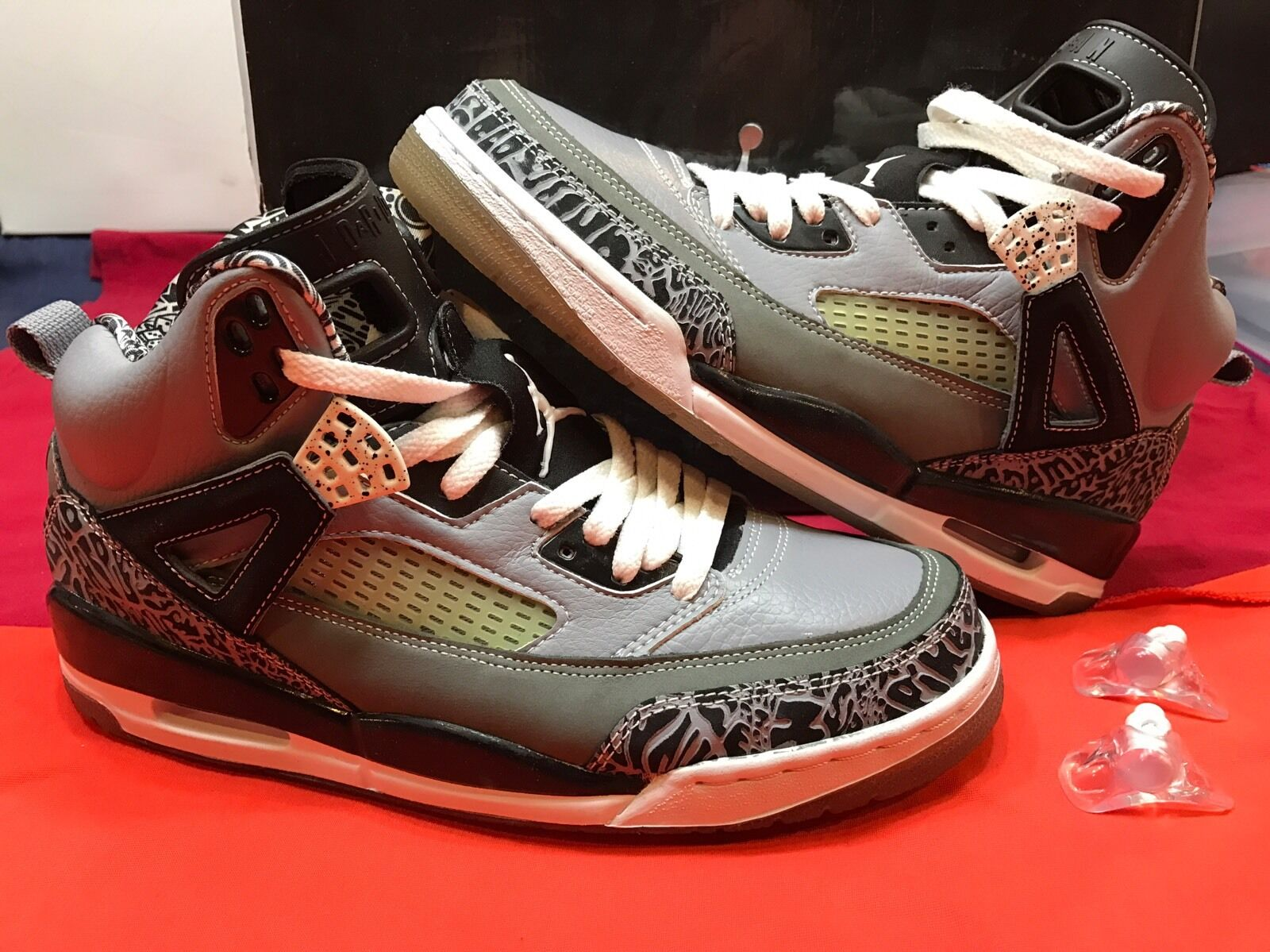 quality design be5c6 9cfac ... where can i buy nike air jordan spizike kühle graue größe 95 schwarze  zement v retro