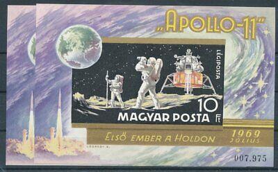 Ungarn Block 72a+b** Raumfahrt Michel€ 52,00€ Keine Kostenlosen Kosten Zu Irgendeinem Preis Briefmarken Aufrichtig 663054 Raumfahrt