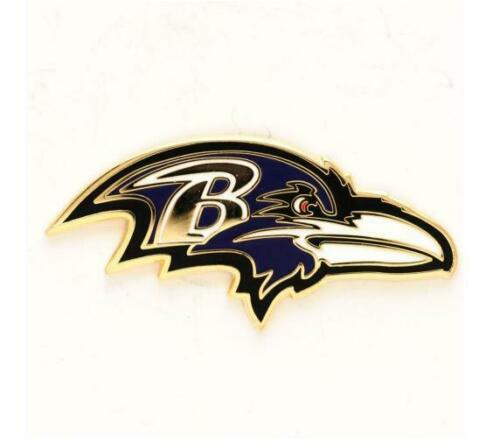Baltimore Ravens Logo Pin NFL FOOTBALL metallo stemma distintivo crest BADGE