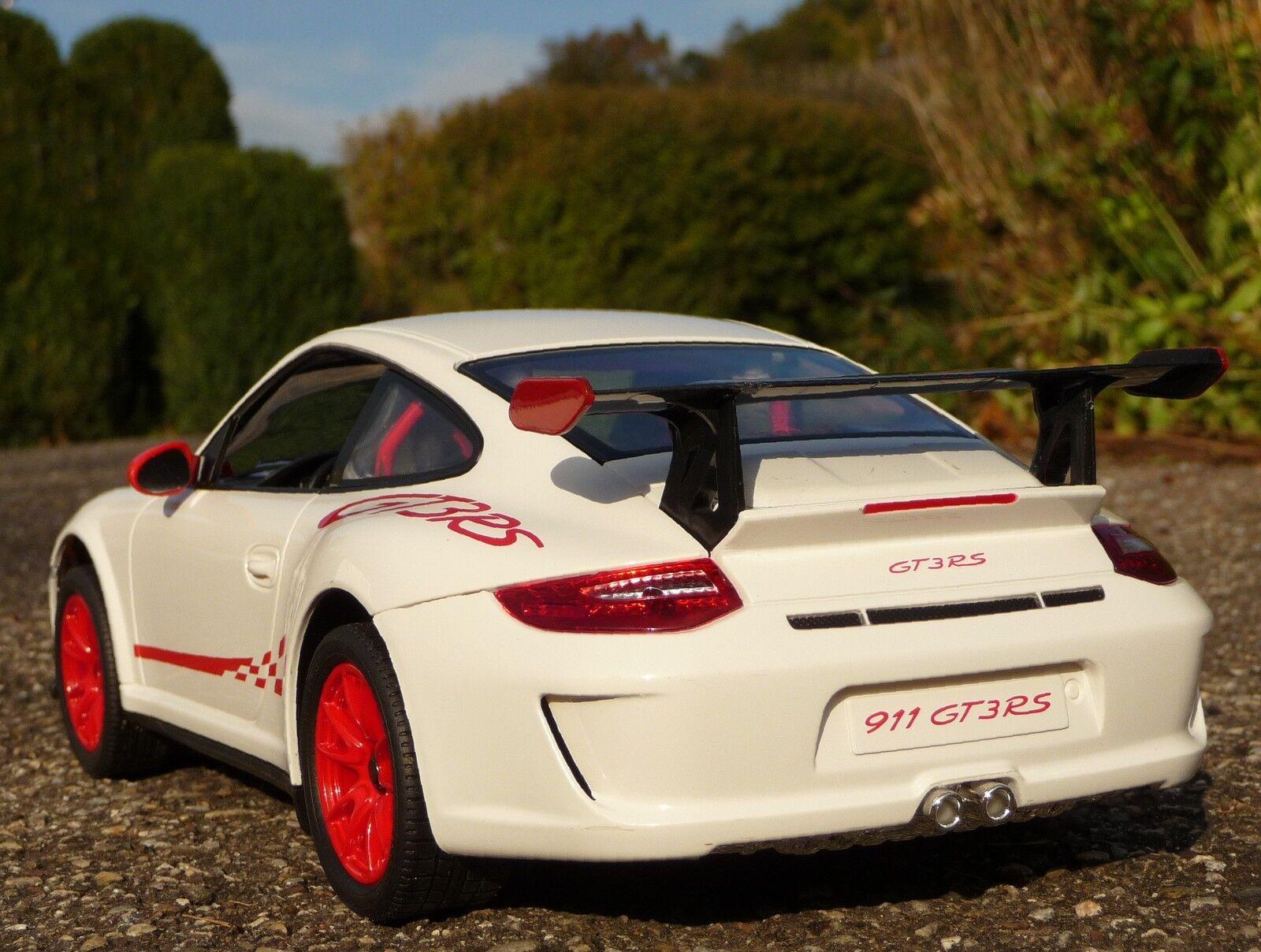 RC Porsche 911 - 997 GT3 RS mit Licht Länge 32cm Ferngesteuert 27Mhz      404311