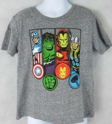 Marvel Avengers Toddler Boys T-Shirt Officially Licensed Thor Iron Man Hulk