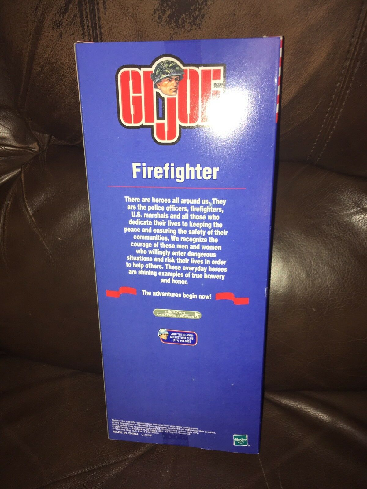 GI Joe Fire Fighter Hasbro 12 Inch Action Figure Figure Figure Sealed New NIB Condition 2002 ca6ff0