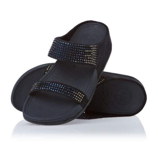 b02b69943acb FitFlop Women s Flare Slide Sandal 5 B(m) US Supernavy for sale ...
