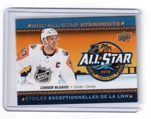 2018-19 Upper Deck Tim Hortons All Star Standouts Connor McDavid ... 6ae7beeab