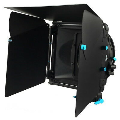 M2 FOTGA DP3000 Swing Away Matte Box Sunshade Filter Tray Donuts For Canon Nikon