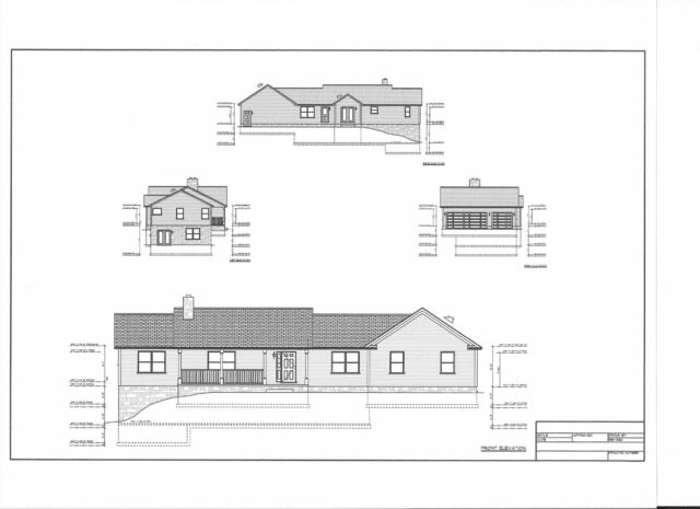Full Set Of Single Story 3 Bedroom House Plans 1 567 Sq Ft For Sale Online Ebay,Home Design Credit Card