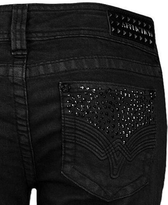 Affliction Women's 02BC171L Jade Rhinestone Boot Cut Jeans Sz 24 25 27 28 29 NWT