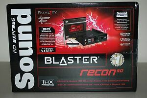 Driver for Creative Sound Blaster Recon3D Fatal1ty Champion Audio