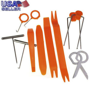 12PCS-Plastic-Car-Radio-Door-Clip-Panel-Trim-Dash-Audio-Removal-Pry-Kit-Tool-Set