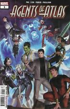 Agents of Atlas #1 Young Variant Marvel Comic 1st Print 2019 NM