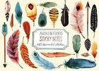 Arrows & Feathers Sticky Notes by Margaret Berg (Hardback, 2014)