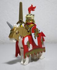 Lion King Kingdoms Gold Armor Horse Barding 7946 Castle LEGO Minifigure Figure