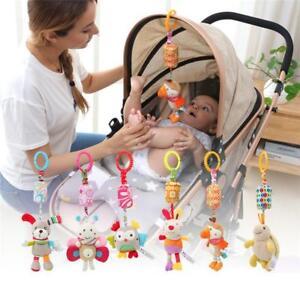 Plush Bed Stroller Animal Hanging Baby Rattle Kids Infant Mobile Crib Toys G