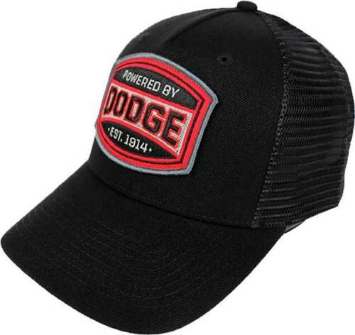 Powered By Dodge 1914 Cars Trucks Mesh Snapback Trucker Hat Cap BA000643DODU