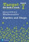 Target Grade 7 Edexcel GCSE (9-1) Mathematics Algebra and Shape Workbook by Katherine Pate (Paperback, 2017)