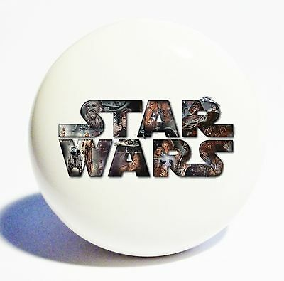 STAR WARS THEME HOME DECOR CERAMIC KITCHEN  KNOB DRAWER CABINET PULL