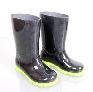 Caricamento dell immagine in corso Stivali-gomma-pioggia -galosce-GUCCI-numero-30-bambina- 475758e0e35