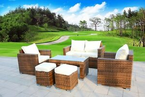 New-6-Piece-Outdoor-PE-Rattan-Wicker-Patio-Furniture-Garden-Sectional-Sofa-Set