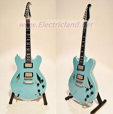 Mini Guitar FOO FIGHTERS dave grohl gibson 335 memorabilia chitarra miniature
