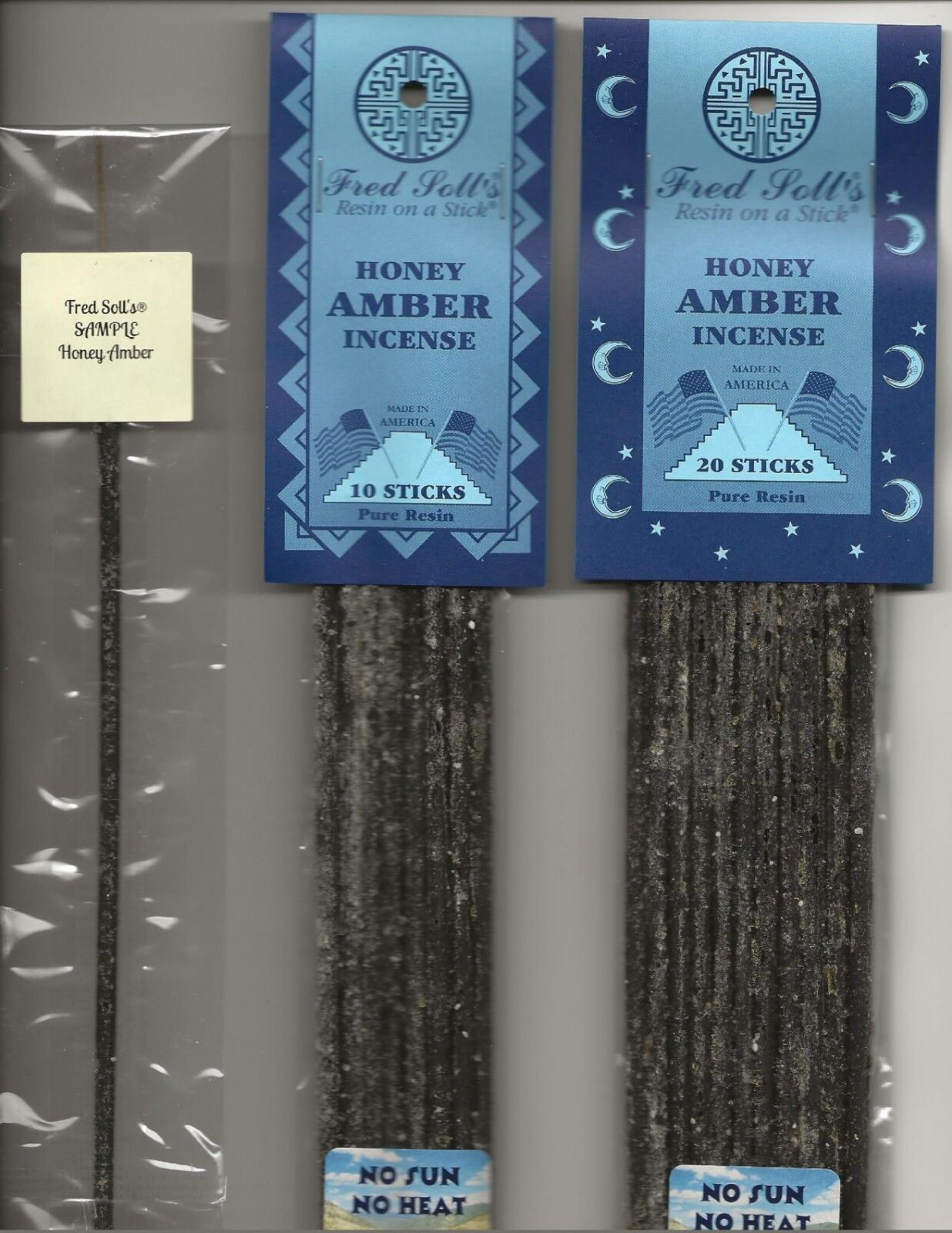 FRED SOLL/'S® RESIN ON A STICK® NEW MEXICO SANDALWOOD INCENSE