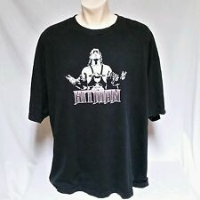 VTG Bret The Hitman Hart T Shirt WWF Wrestling WWE WCW Goldberg NWO Mens XXL 2XL