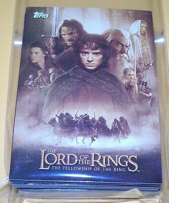 Complete Update Set Lord of the Rings THE FELLOWSHIP of the RINGS
